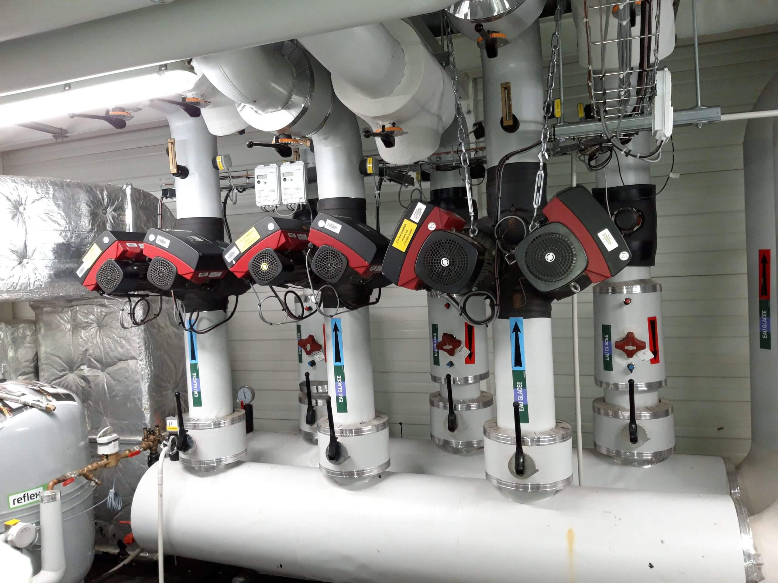 Système de chauffage - CEA - ICE SACLAY