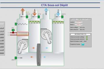 CTA sous-sol depot