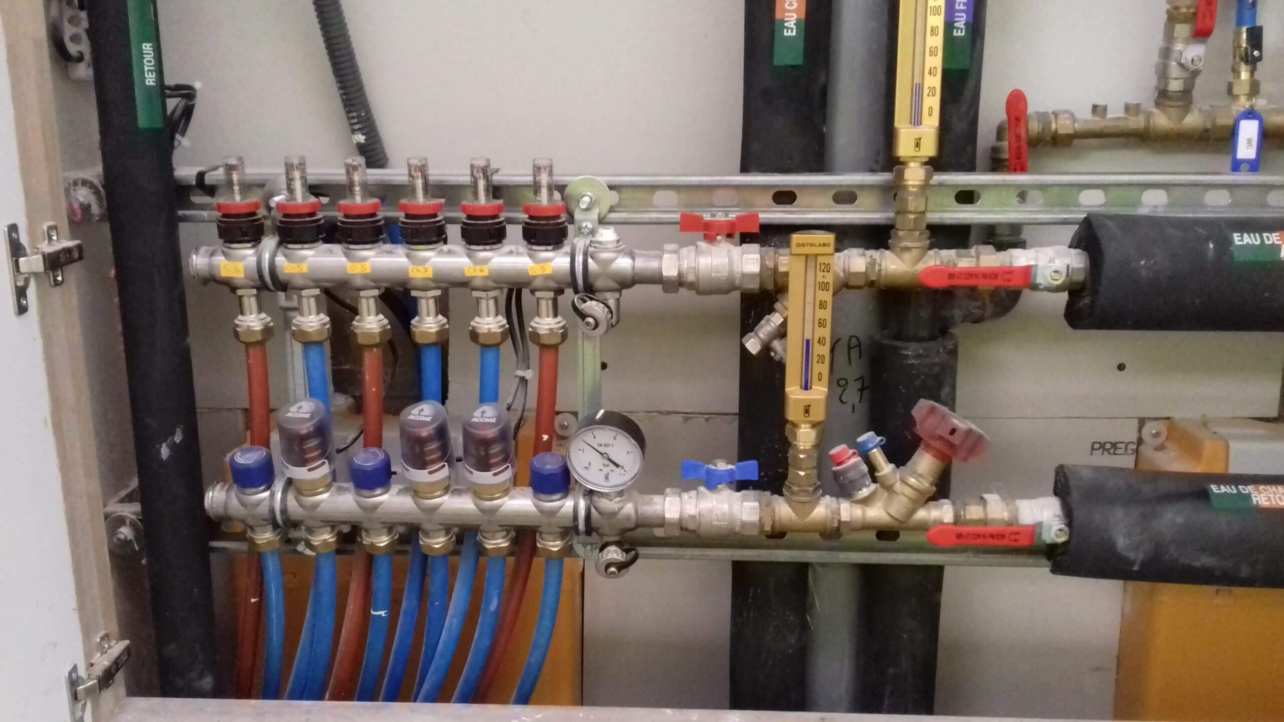 Système de chauffage - EHPAD MONTESSON