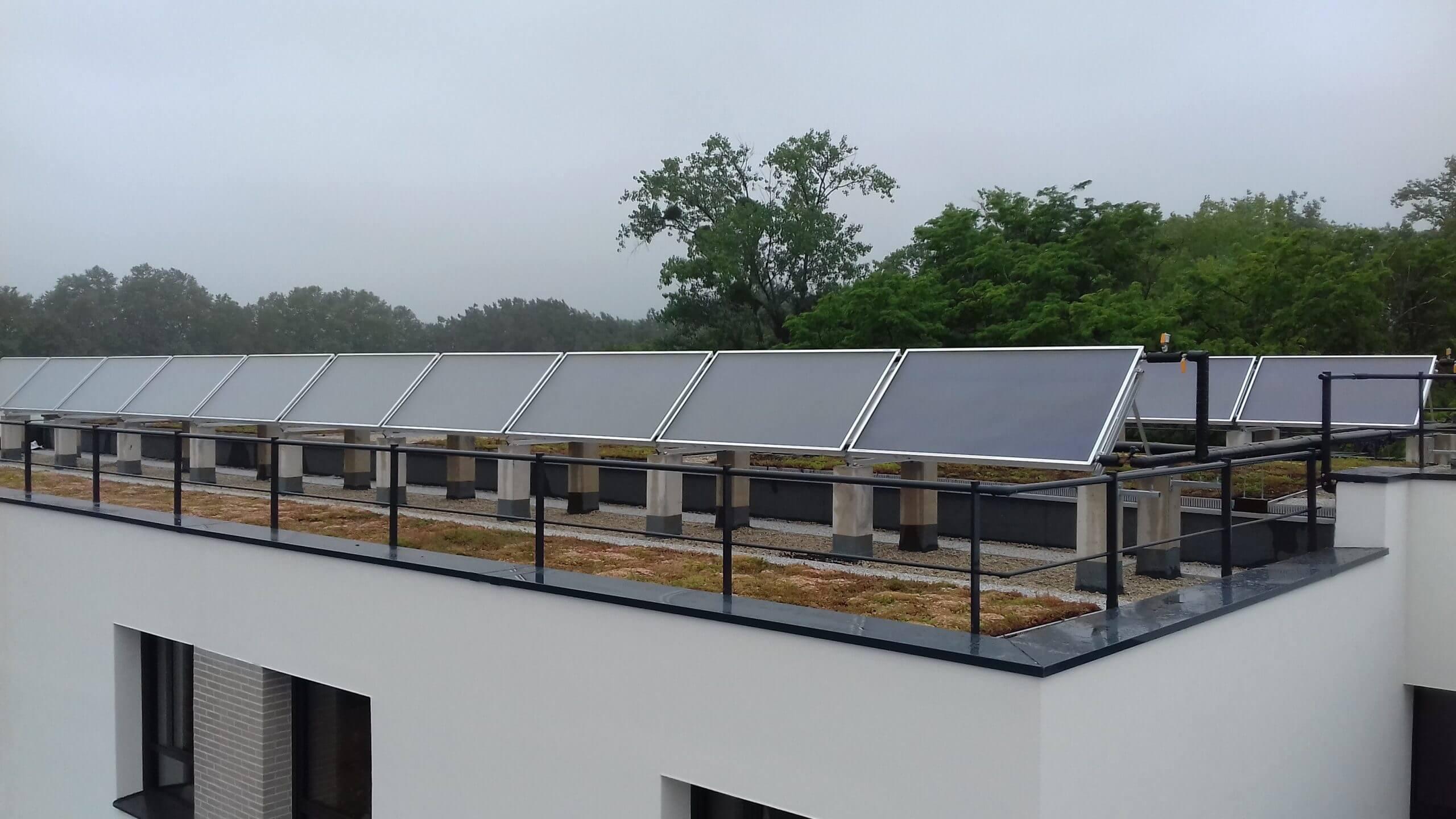 Panneaux solaires - EHPAD à Montesson