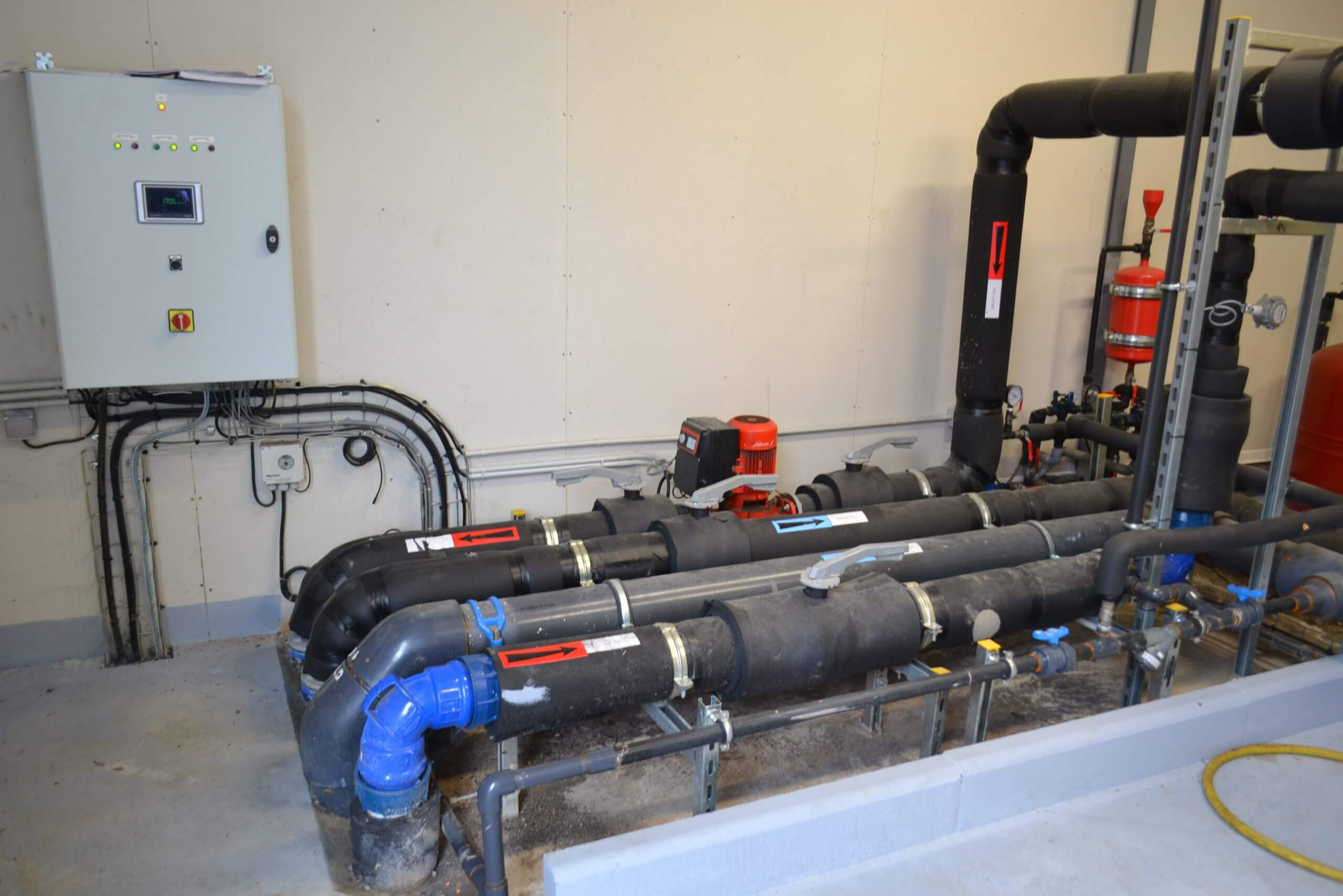 Systeme climatisation - Espace GITTON St-Pierre-des-Corps
