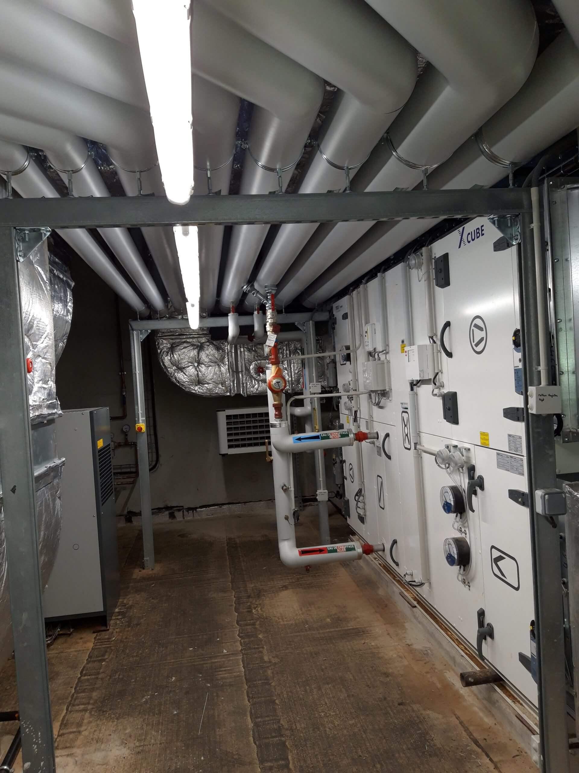 Systeme de ventilation - CEA - ICA SACLAY