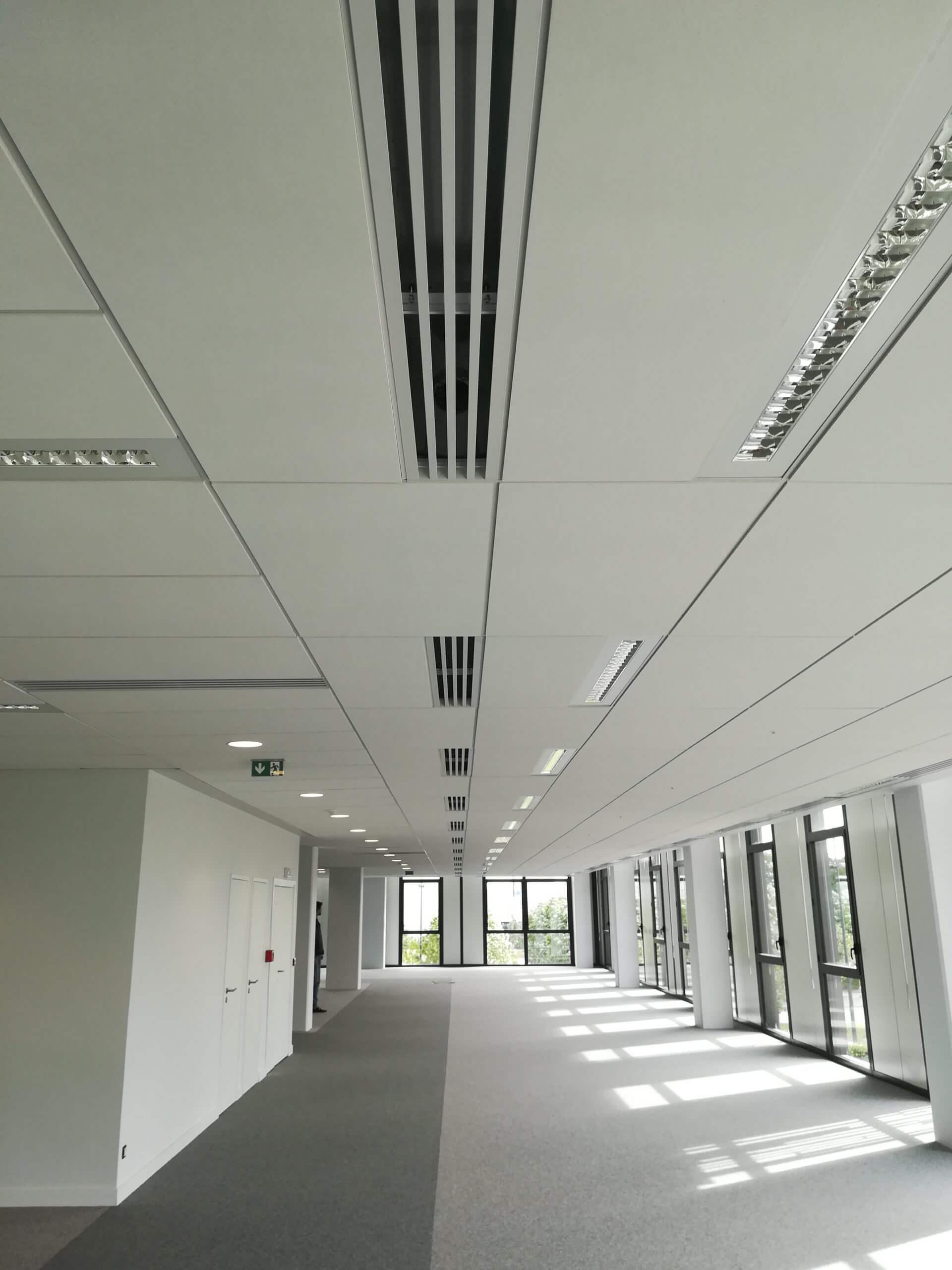 Ventilation de bureaux - PITCH CARREE DES ARTS